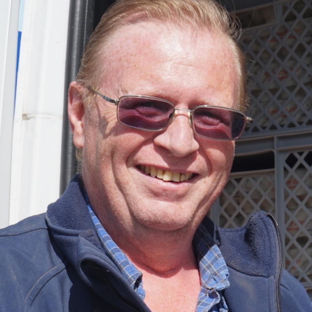 Peter Henningsen vom Dingholzer Hofkiosk