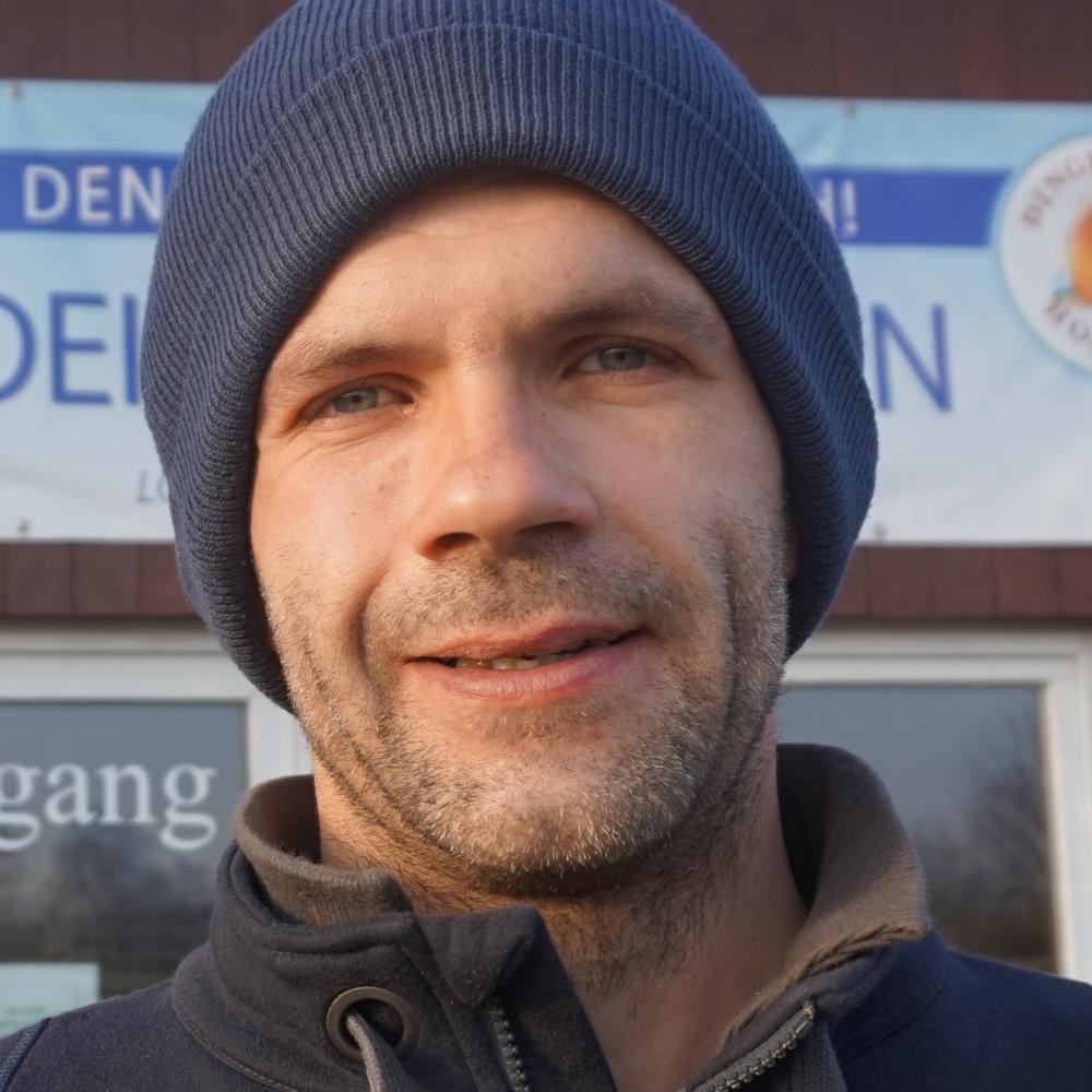 Tim Hansen vom Dingholzer Hofkiosk