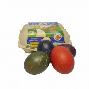 Ostereier im Online-Shop vom Dingholzer Hofkiosk